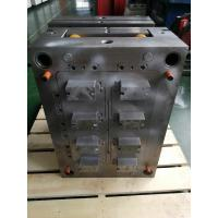 Black Plastic Mould Plastic Injection Production PP Custom Material Fixed Installation for sale