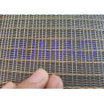 Customized Size Laminated Screen Mesh Decorative Glass Metal Mesh Fabric for sale