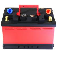 China Red And Black Lifepo4 Battery Cells / Lithium Phosphate Car Battery CE FC RoHS for sale