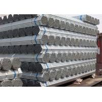 Round 48.3mm Galvanized Steel Pipe Manufacture For Water