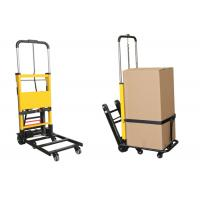 ISO Electric Portable Hand Truck Stair Climbing Trolley Aluminum Alloy For Cargos for sale