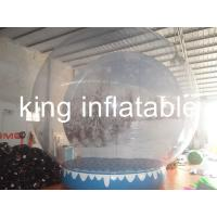 Exhibition Show Christmas Inflatable Snow Globes Outdoors 3m Diameter for sale