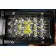 China 6 Inch 54W  Led Work Lights 12v Trip Row 6500k Multiple Colors for sale