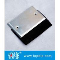 Flat One - gang Aluminum Stamped Cover , Weatherproof Electrical Outlet Boxes for sale