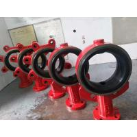 China Vulcanized EPDM Seat Butterfly Valve Accessories Size Range 2 Inch - 24 Inch for sale