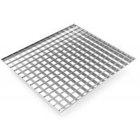 304 316 316L Stainless Steel Bar Grating Pressure Locked Square SS Grating for sale