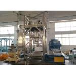 China 1000kg Per Bag Fertilizer Paste Material Ton Bulk Bag Auto Weighing Packing Machine for sale