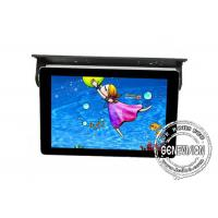 21.5inch Android Bus Digital Signage Ceiling Mount Shockproof Taxi LCD Media Player Remote Control Wifi for sale