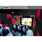 China Customized 5D Movie Theater Ocean park 5D Motion Cinema Arc Screen Luxury Chairs for sale