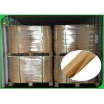 China Eco Friendly Large Kraft Paper Roll , 60 Gsm 120gsm Food Grade Kraft Paper for sale