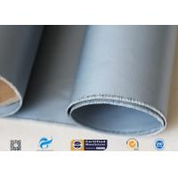 Grey Silicone Coated Fiberglass Fabric 7628 0.25mm For Electrical Insulation for sale