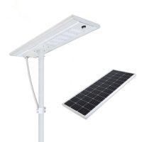 China Monocrystalline 80W 120W 190Lm/W Aluminum LED Street Light for sale
