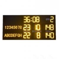 China Light And Portable AFL Electronic Scoreboard With Aluminum Alloy Frame for sale