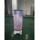 China P2.5 Flexible LED Screen Indoor Video Advertising Curved Cylinder Display For Shop for sale