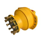 Steel Material Hydraulic Piston Motor Low Speed High Torque Wheel / Shaft