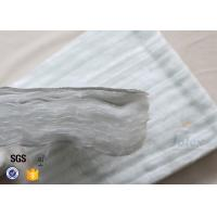 China 800℃ E Glass Fiberglass Needle Mat With Aluminium Foil For Heat Insulation for sale