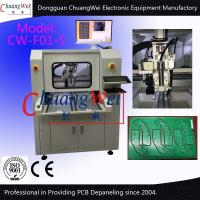 PCB Depaneling Machine PCB Inline CNC Router with 0.01 Positioning Accuracy for sale