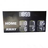 China High Brightness Electronic Football Scoreboard Clock With Installation Brackets for sale
