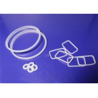 O Shaped Silicone Rubber Gasket Non Standard Weak Acid And Alkali Resistance for sale