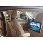 10.1 Inch HD Dual Core Taxi Digital Signage , Car Headrest Digital Advertising Screens for sale
