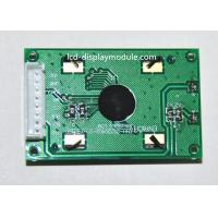 China TN 7 Segement Dot Matrix LCD Display Module 3 Digital Display With White Backlight supplier