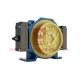 IP41 Single Wrap Gearless Elevator Traction Machine / Gearless Lift Motor for sale