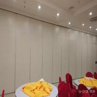 Mobile Operable Partition Walls Cost Folding Acoustic Room Dividers For Auditorium for sale