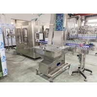 CGF8-8-3 Small Pure Drinking Water Bottle Filling Machine 3 In 1 Washer Filler Capper 4.23KW