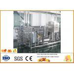 Complete Mini Fresh Orange Juice Production Line 45% Juice Yield Energy Saving for sale