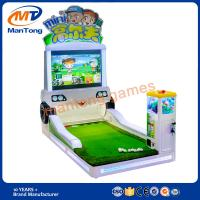 2017 Kids New Product Mini Golf Game Machine Coin Operated Machine for sale