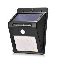 China outdoor waterproof 8led Solar Power motion sensor Wall Light for Garden,Yard and corridor for sale