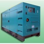 Open / Silent 100KVA Diesel powered portable generator set , diesel backup generators for sale