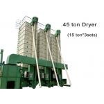 China 45 Ton Rice Grain Dryer Batch Recirculation 380V / 220V With High Drying Speed for sale