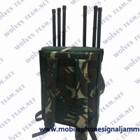 China 80W EOD Backpack 4G 5G Cell Phone Signal Jammer Manpack RF Jammer for sale
