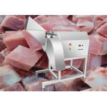 1000KG/H Beef Cube Cutting Machine Frozen Pork Meat Dicer Chicken Breast Cutter