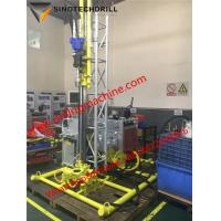 Full Hydraulic Portable Core Drill Rig With Core Diameter 63.5 / 56 / 42mm for sale