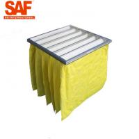 China F8 Bag Type Pocket Air Filters 5 Micron Medium Efficiency Non Woven Ventilation System for sale