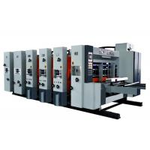 Lead Edge Feeder Corrugated Box Flexo Printer Slotter Die Cutter Machine / Flexo Printer Slotter Machine for sale