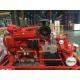 China EDJ  Diesel Engine Motor and one Jockey Ul/FM Split casing Fire Pump set 500gpm for sale
