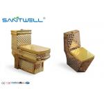 Sanitaryware Golden Ceramic Toilet  SWC1611 700*400*760 Mm One Piece for sale